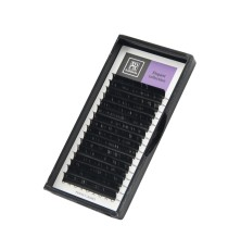 """Чёрные ресницы BARBARA """"Elegant"""" (D, 0.12, 15mm)"""