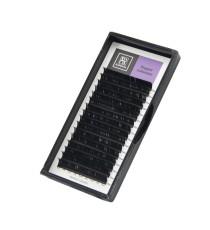 """Чёрные ресницы BARBARA """"Elegant"""" (D, 0.10, 15mm)"""