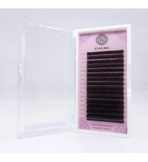 Черные ресницы Enigma микс (L +, 0.07, 7-14mm)