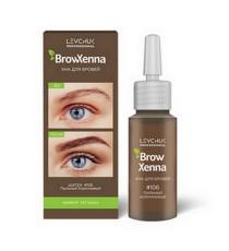 Хна для бровей BrowHenna #106, пыльный коричневый (1 флакон)